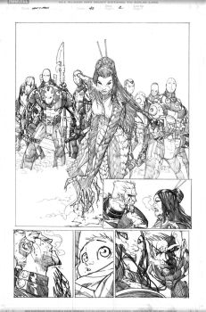 New Xmen 45 pg2 by elramos