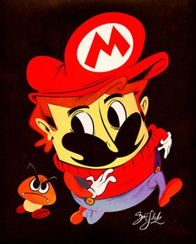 Quick Mario by Themrock