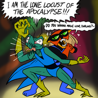 Zorak and Brak by killb94