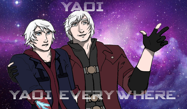 DMC 3 title card by theeighthdeadlysin