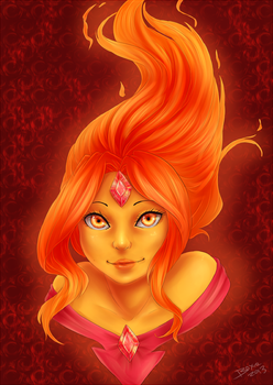 Flame Princess by Little-Miss-Boxie