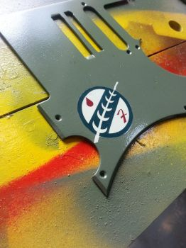 FettCaster, Part 5: Paint and decals (pickguard) by SirGunky