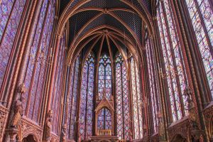 dreamy sainte chapelle by yiimisekiz