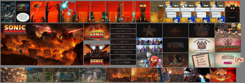Sonic Chronicles vs Sonic Forces by DeverexDrawer