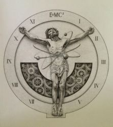 Quantum Christ: A Brief History Of Time by Greyfell-Fine-Art