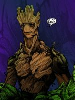 I am Groot by JeffyP