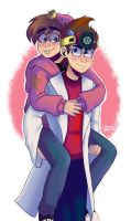 JimmyTimmy - Hold Me - Shading by Cat-Tastic-Luv