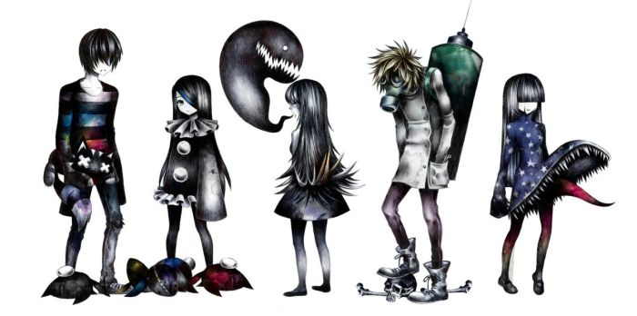 Original characters. by SandraInk