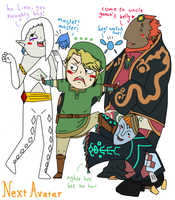 Link's harem went wrong by nextavatar