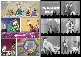 Mystery Science Theater 3000 comic by DadaHyena
