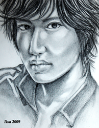 Lee Min Ho by InuIrusa-chan