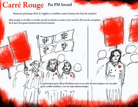 Carre Rouge 1 by somnium79