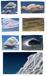 Cloud study (Daily 31) by Aurora-Alley