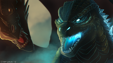 King of The Monsters (WIP) by Natsuakai