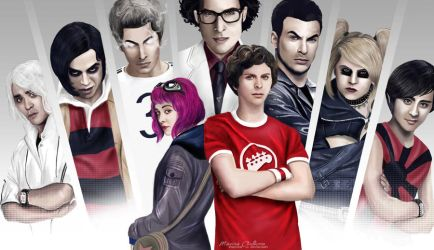 Scott Pilgrim vs. the World by staroksi