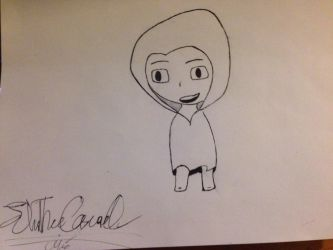 Hooded Chibi.  by johnp580