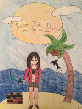 Aphmau The Deep End fan art by minniemouse1207