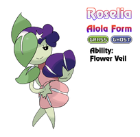 Roselia - Alola Form by locomotive111