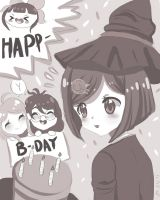 Happy Bday Himiko!!!! ( sketch) by 13SweetBUNNY13