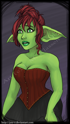 WoW - Calliope Peddlesoul by jess-o