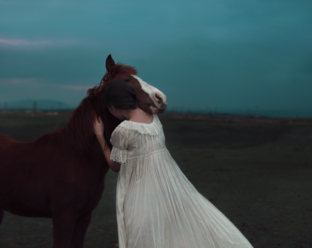 The Horse Whisperer by Rebeca-Cygnus