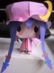 Patchouli Knowledge Papercraft by Merengil