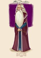 Order of the Phoenix - Albus Dumbledore by aidinera