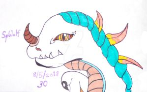 WoW's Albino Drake, Redesign by SpellboundFox