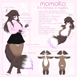 Momoko Reference by yeagar