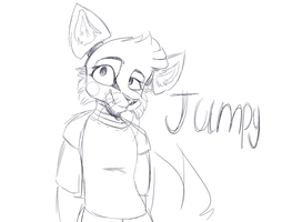 Jumpy sketch by Nyctolea