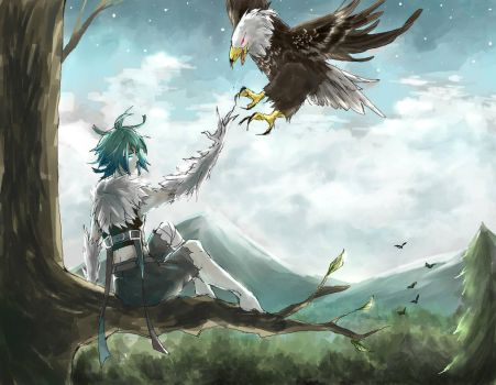 Morris and the Eagle by Corbenyx