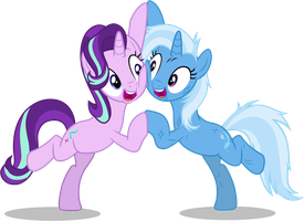 Starlight and Trixie by FamousMari5