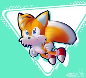 sonic forces: tails by Neonunderground