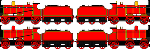 The Red Engine sprites by sodormatchmaker