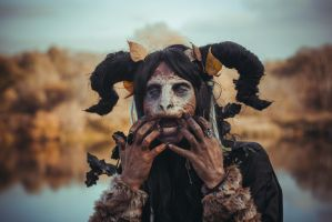 Fantasy faun stock by Nerium-Oleanders