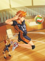 - Haikyuu!! - by coreymill