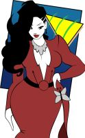 Tribute to Patrick Nagel by Akeem