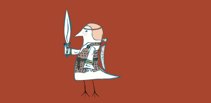 Birds and Aveline by Hilde33