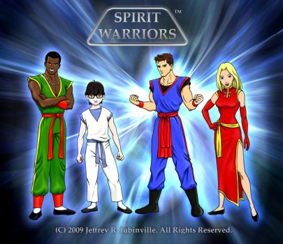 Spirit Warriors Cover by SpiritWarriors