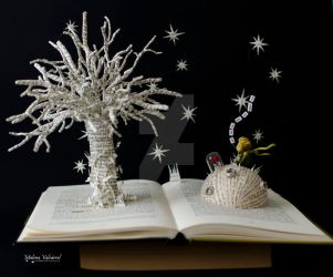 The Little Prince - Book Arts by MalenaValcarcel