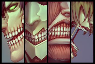 Titan Chompers by moni158