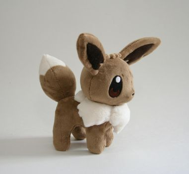 Eevee Chibi Plush by Yukamina-Plushies