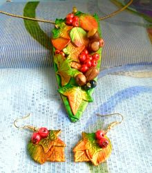 Fruits of the Forest Jewellery set by aldcord