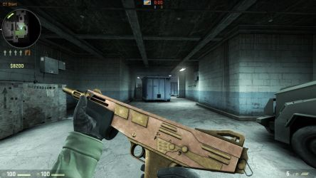 CS GO Skin | Mag-7 | Copper and Brass by GreasyBacon