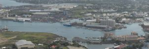 Port Louis Harbour Panorama IV by carrotmadman6