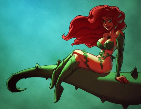 Poison Ivy for Wally by mastermead