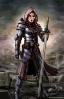 Tamisen the Paladin by SirTiefling