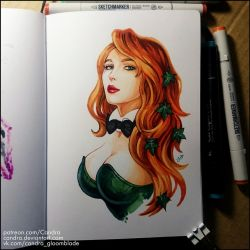 Sketchbook - Playboy Ivy by Candra