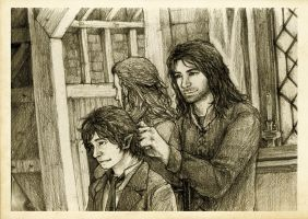 Discovering Mr Baggins - Kili by Nazgullow