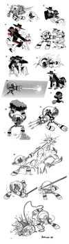 G3 Sketchdump 008 by Aggie-ness